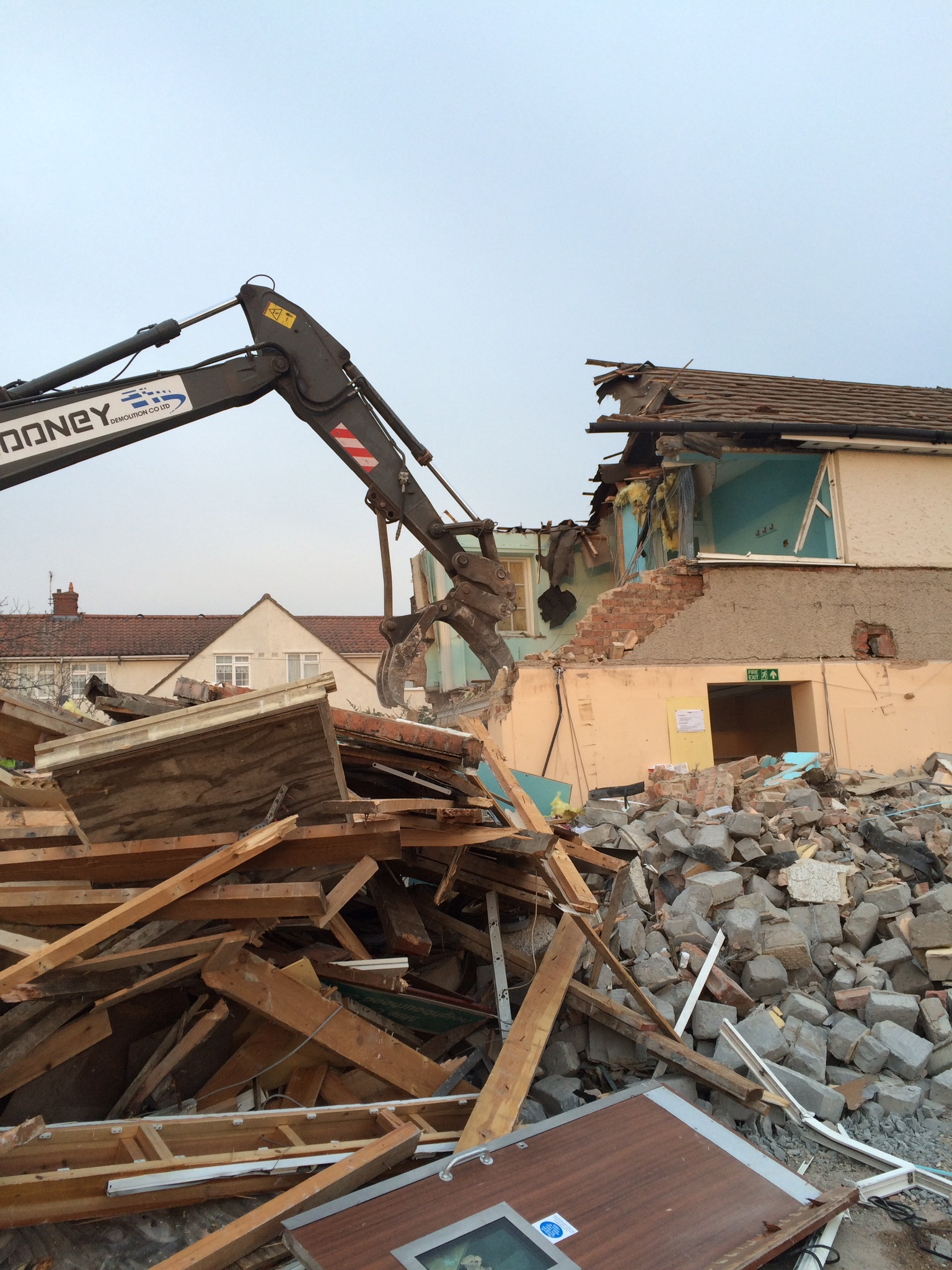 During Demolition